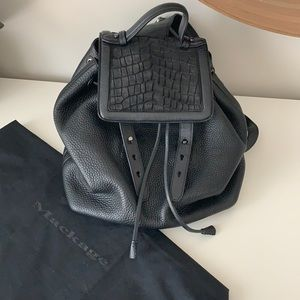 Mackage Tanner Leather Backpack